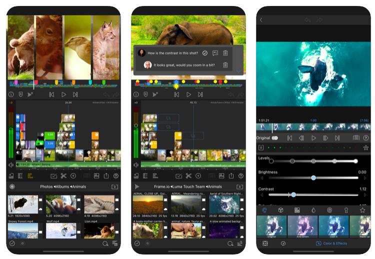 iPhone video editor