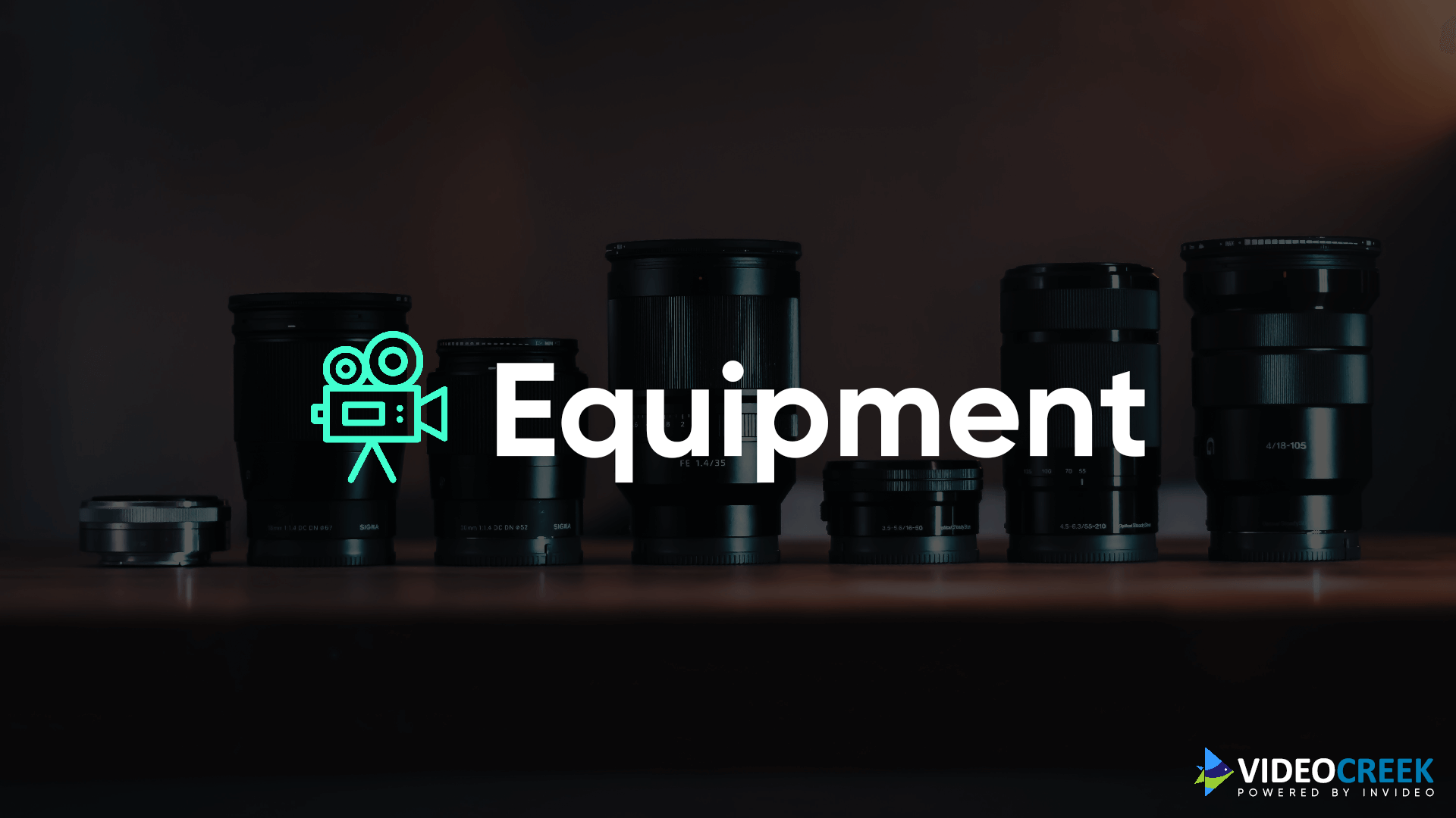 Equipments for YouTube Videos