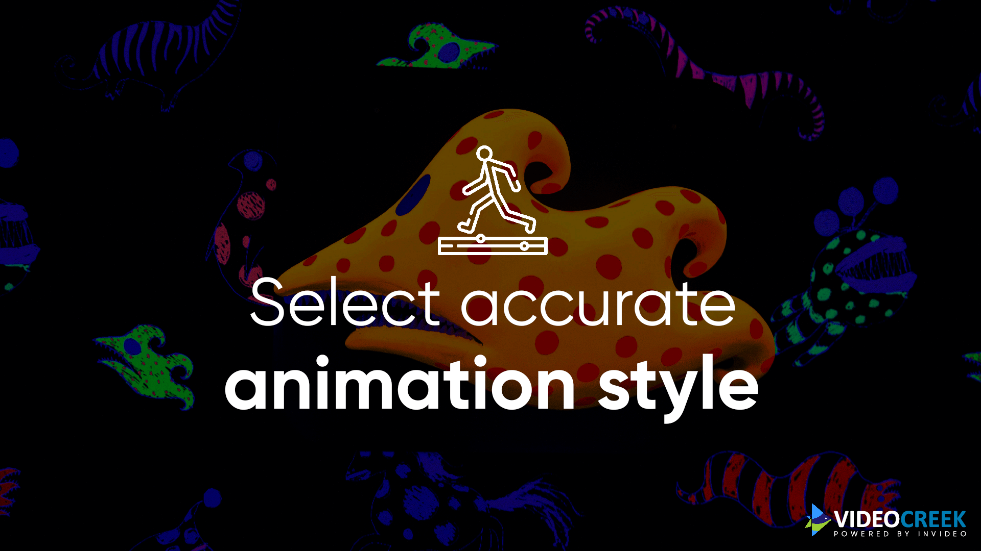 Apply an apt animation style