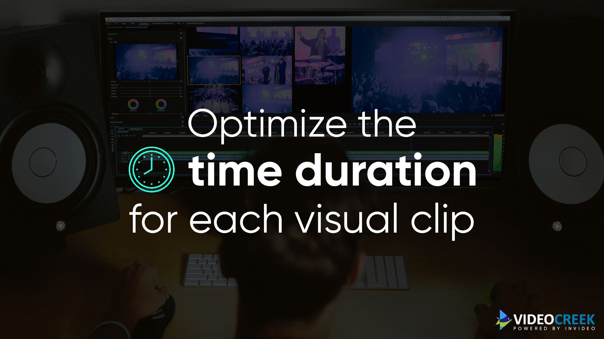 Optimise time duration for video clip