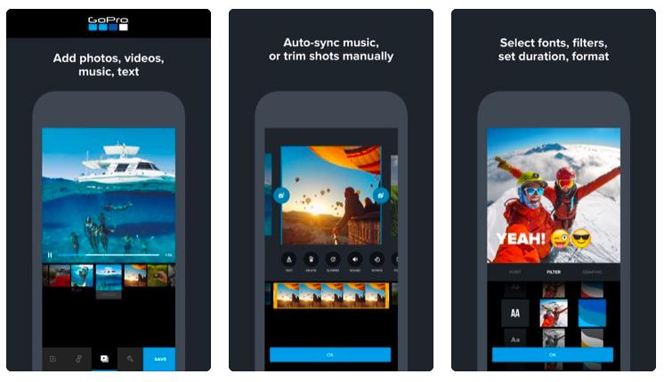 free Video editing app