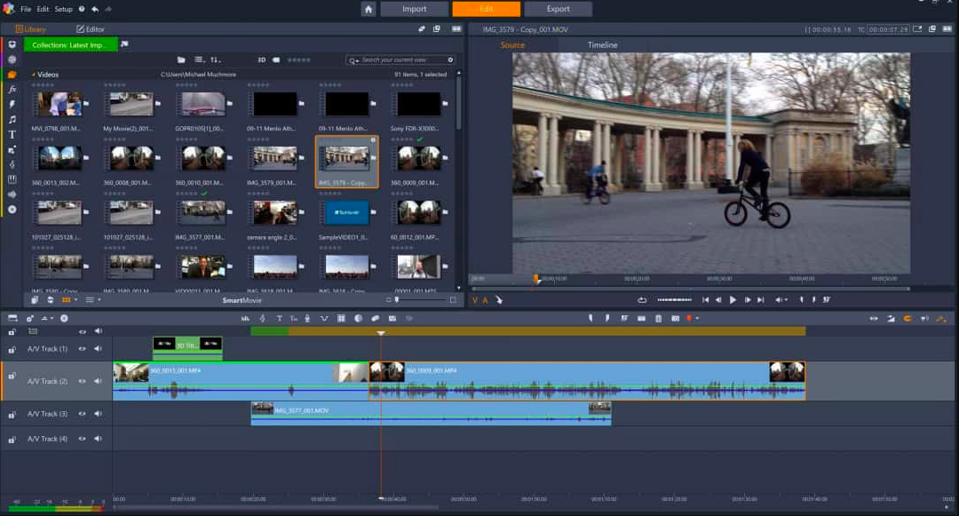latest video editing software