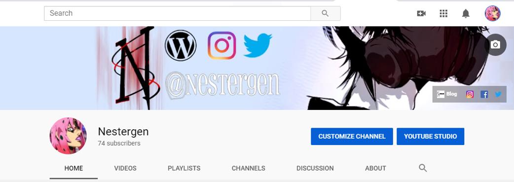 Nestergen's YouTube channel
